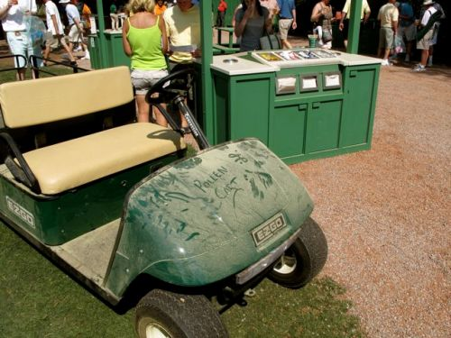 Golf Cart at 2010 Masters
