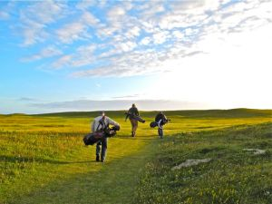 Sunset Golf at Askernish