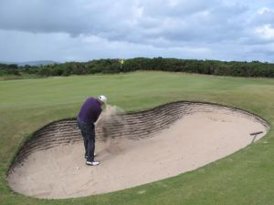 Bunker Shot at Royal Dornoch