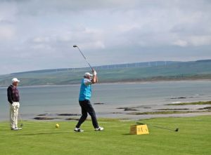 First Tee at Machrihanish