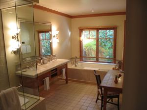 Bathroom at CordeValle