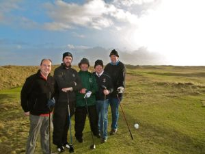 Fivesome at Askernish