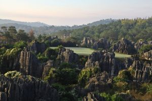 12th Hole at Stone Forest, China