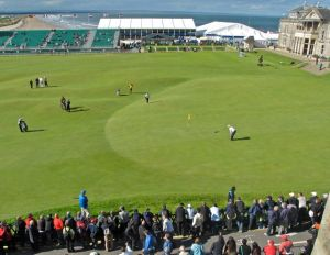 Old Course eighteenth green