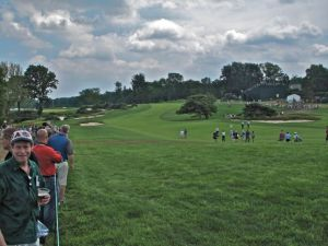 Merion's 16th fairway