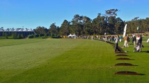 Pebble Beach driving range