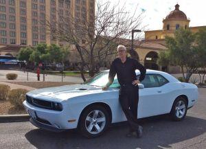 John Garrity with Challenger